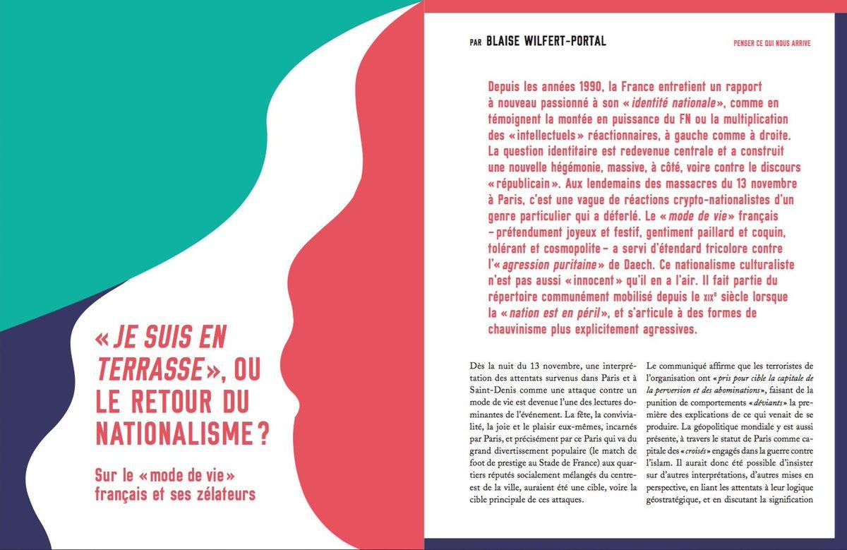 """Je Suis En Terrasse la revue du crieur on twitter: """"[j-3] «je suis en terrasse"""