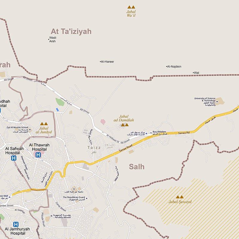 OCHA Yemen on Twitter Where are Al Qahirah Al Mudhaffar or Salh