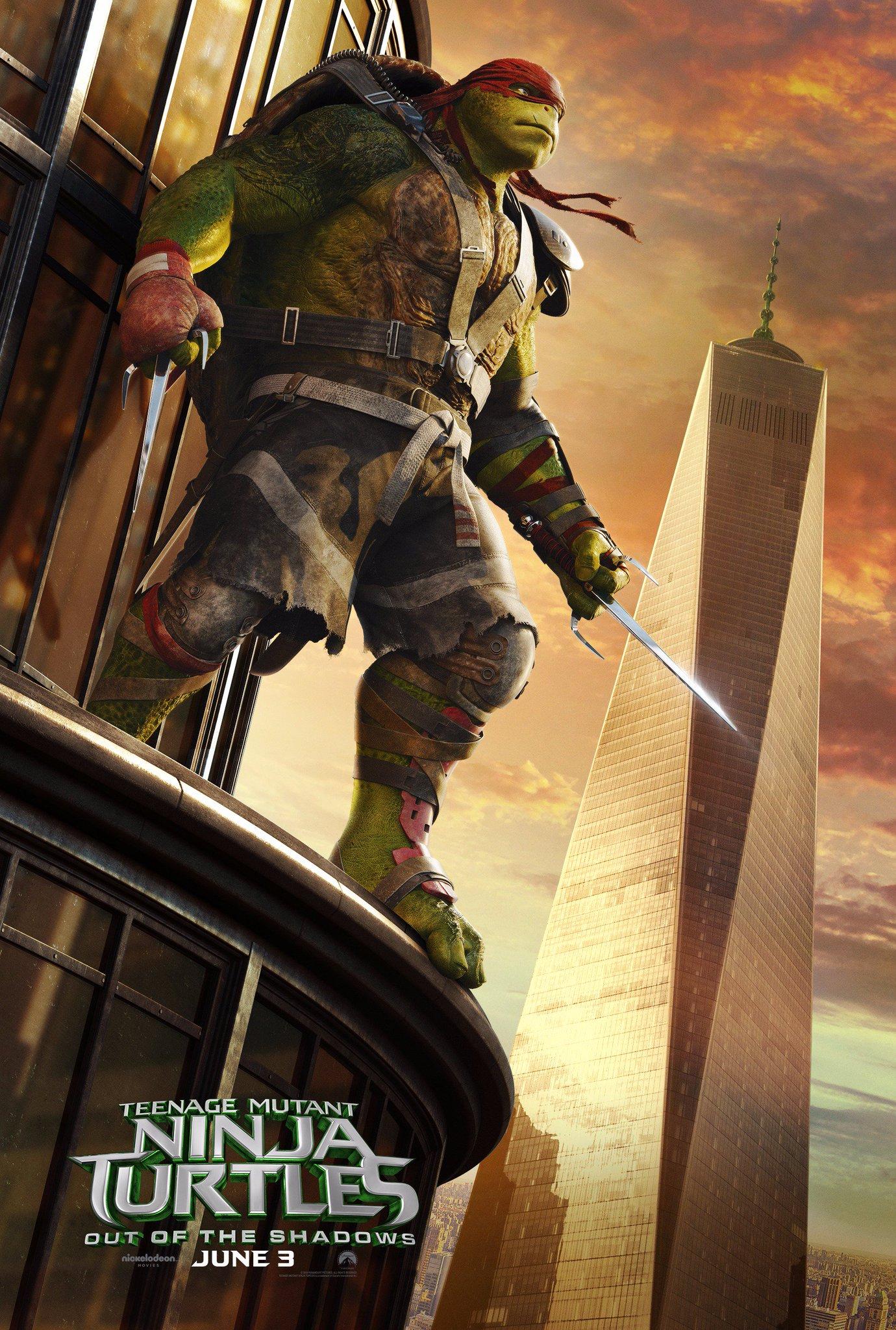 Teenage Mutant Ninja Turtles 2 Poster