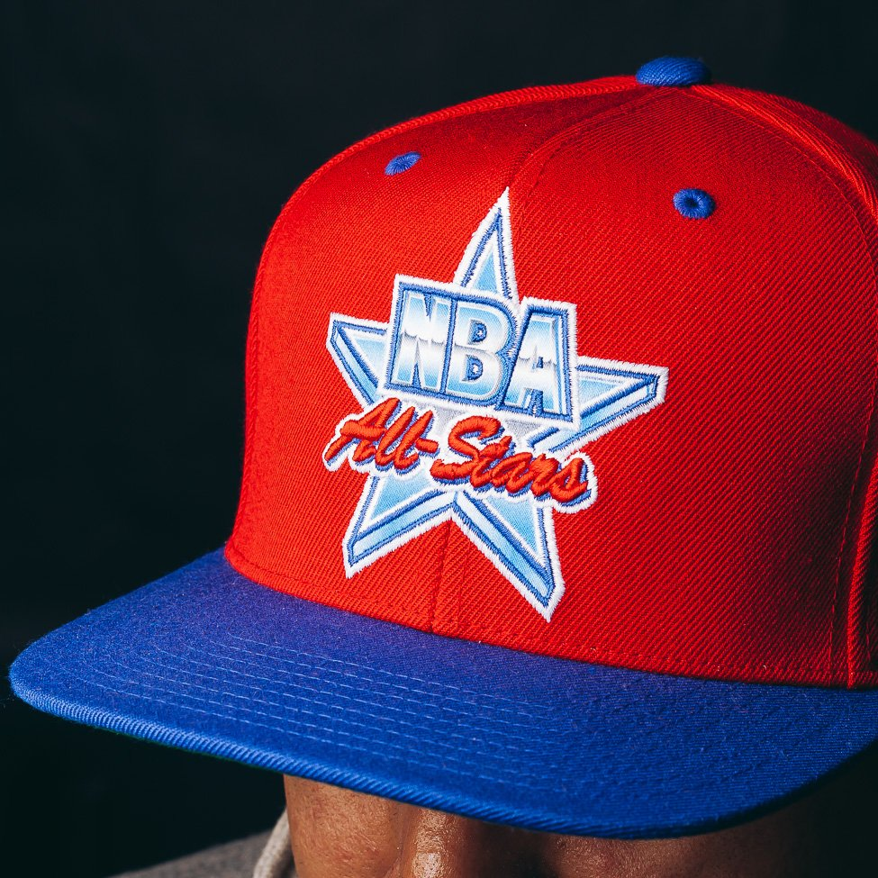 5380687e ... cheap mitchell ness on twitter 1991 nba all star game snapback red  exclusive to corporategotem nbaallstar