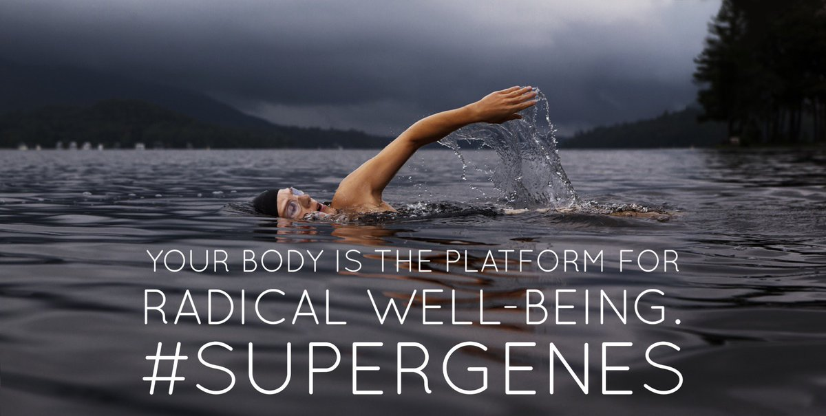 Pay attention to your strongest daily habits. They determine your genetic health https://t.co/J5X2EZr8io #SuperGenes