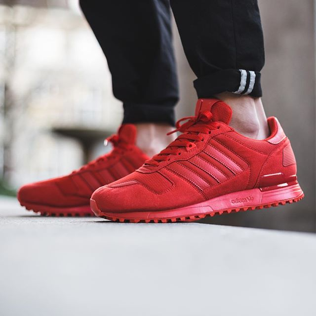 adidas zx 700 all red