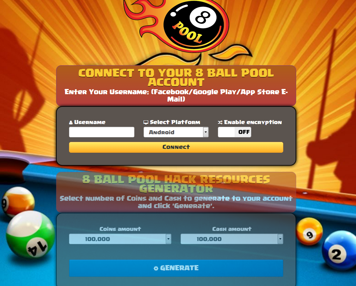 "8 Ball Pool Generator App 8 ball pool hack on twitter: ""hey guys, we just released our"