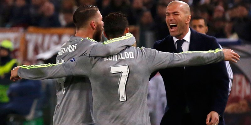 ROMA-REAL MADRID 0-2 Video: Gol di CR7 Cristiano Ronaldo e Jesé
