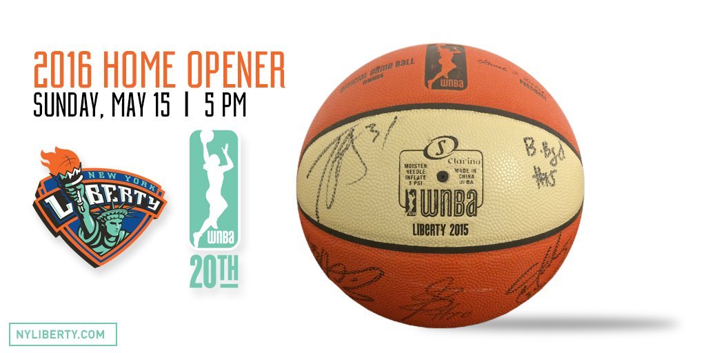 It's #RandomActsOfKindnessDay Retweet for a chance to win this official @WNBA ball signed by the 2015 @nyliberty https://t.co/Swxt1Gy7q0