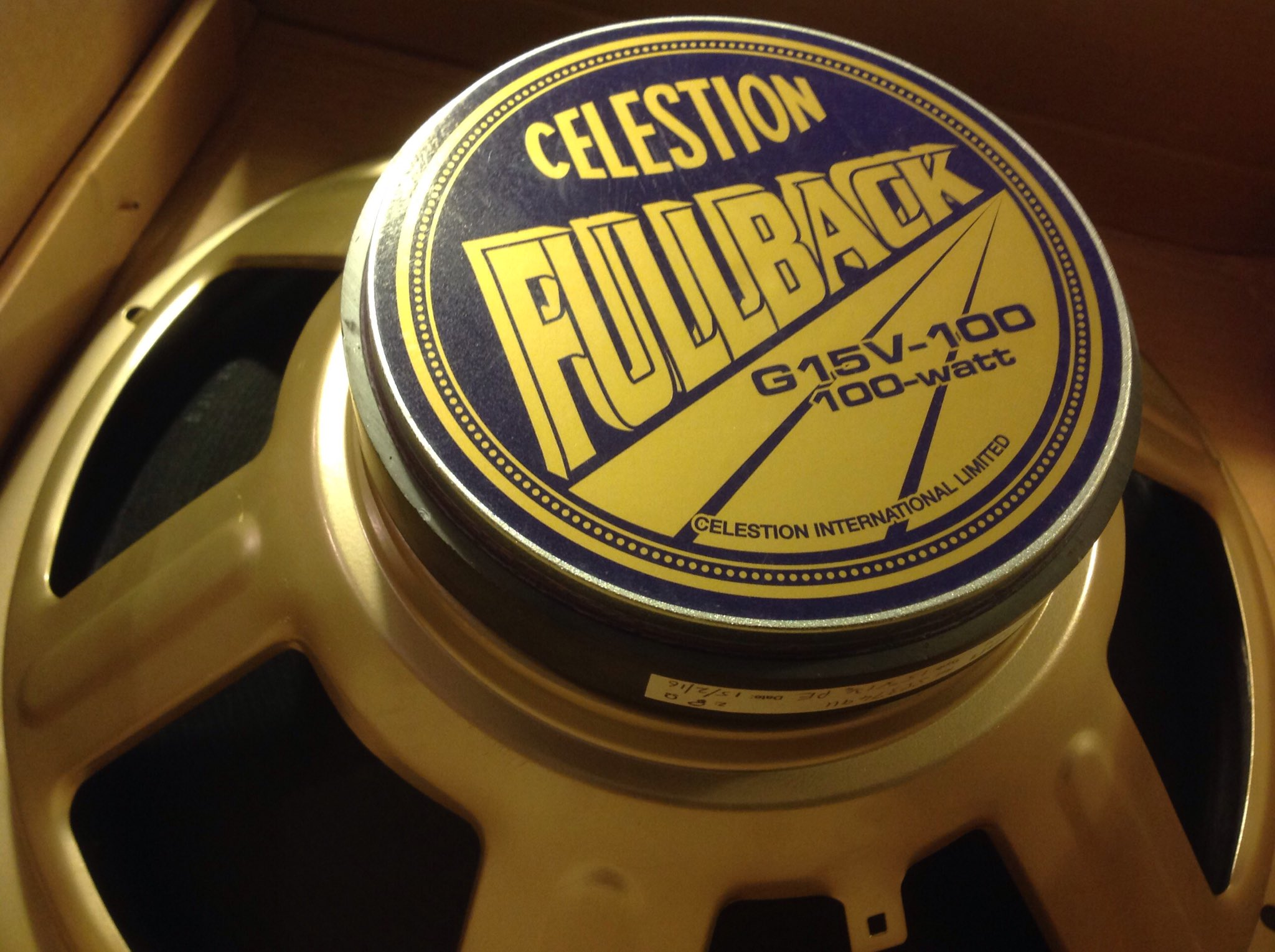 celestion gv fullback the micro terror side by side the 4x12 or 2x12 the jcm 2000 it will also make a cool extension speaker for my fender quad reverb