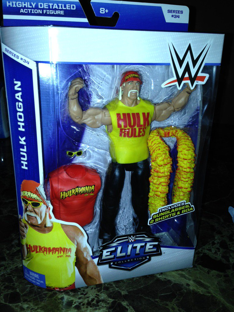 @HulkHogan to my Cousin Terry aka Hulk Hogan, I got your last figure on the shelf and also have had the lunch box!