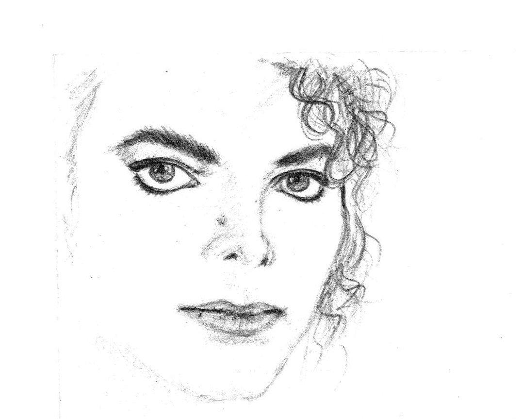 その昔カセットレーベルを自作しようと一生懸命マイケル・ジャクソンを鉛筆画で描いてたら母が「そうじゃない!」とか文句をつけてきたので「じゃああんたやってみろよ!」といって描かせて平謝りした絵がこちらになります(;・∀・) うめえw https://t.co/Rgf8l3P1vu