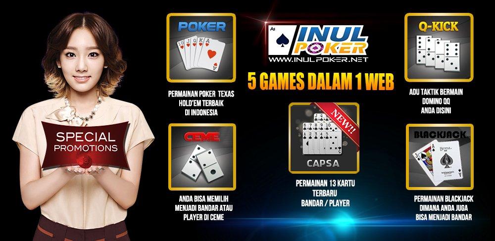 Official Inulpoker On Twitter Https T Co Jmg9hfz4i5 Agen Poker Online Bandar Ceme Domino Qq Blackjack Capsa Pokeronline Indonesia Https T Co Qf6tacu998