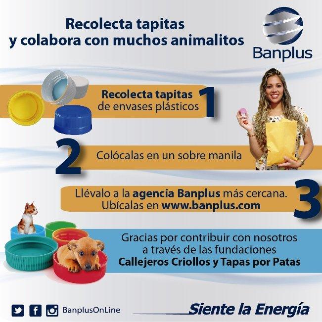 Banplus contribuye con l ambiente y ayuda a los animales en estado de vulnerabilidad.