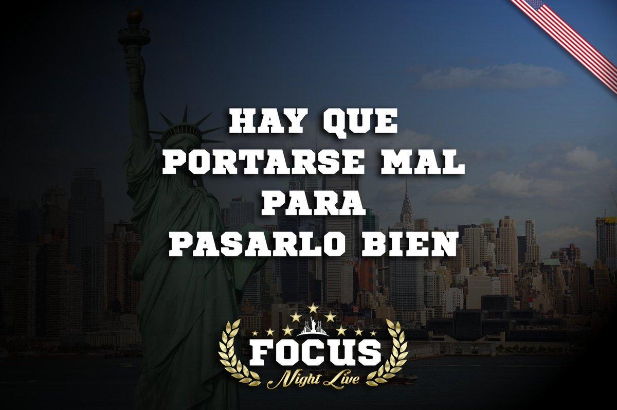 Focus Party On Twitter Hay Que Portarse Mal Para Pasarlo