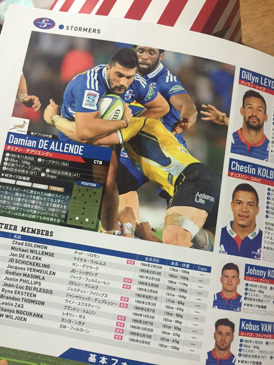 @Doogz Japanese 'SUPER RUGBY COMPLETE GUIDE'! Go Damian! https://t.co/3pblGa6LBQ