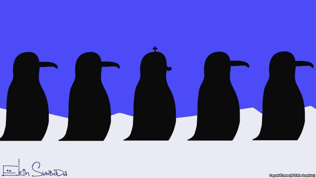 Глава РПЦ Кирилл посетил пингвинов в Антарктиде - Цензор.НЕТ 4161