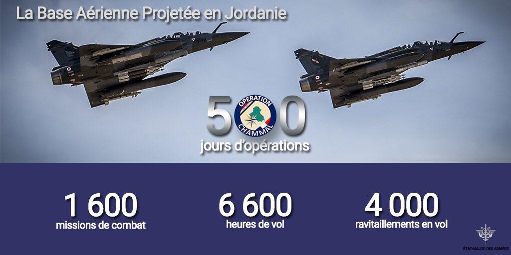 """Французские 500 дней - итоги воздушной операции """"Chammal"""" против """"Халифата"""""""