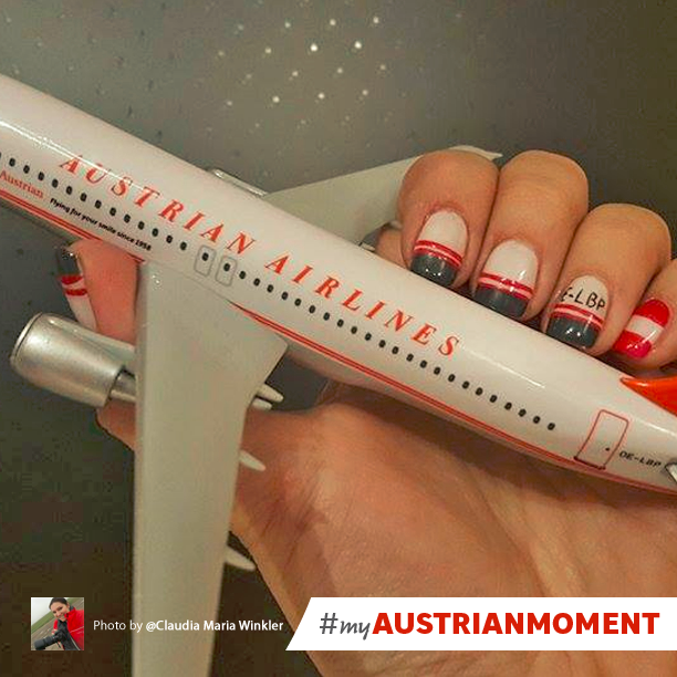 Austrian Airlines On Twitter When Youre Into Nail Art But Plane