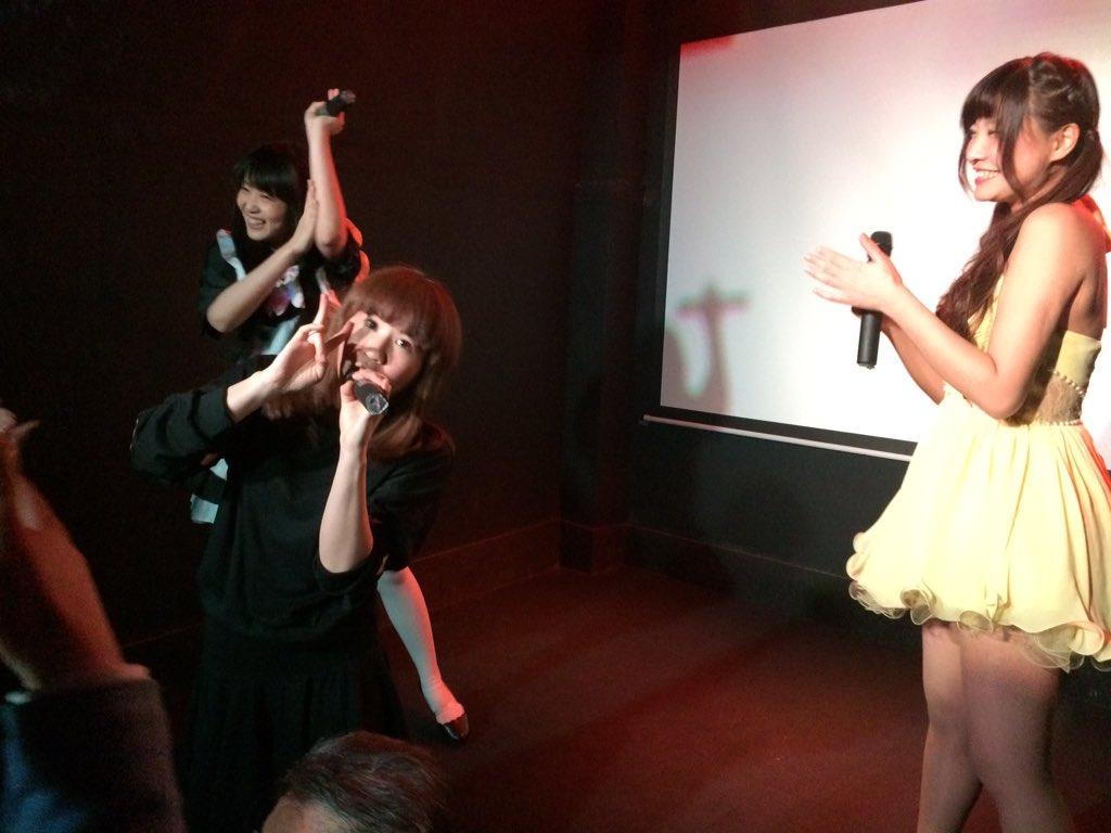 知愛、八重ありさ、中村にこによるコラボきた!!#yotsuya_idol https://t.co/3a08DZwKsD