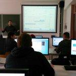 Image for the Tweet beginning: Studenten Arteveldehogeschool uit het 3e