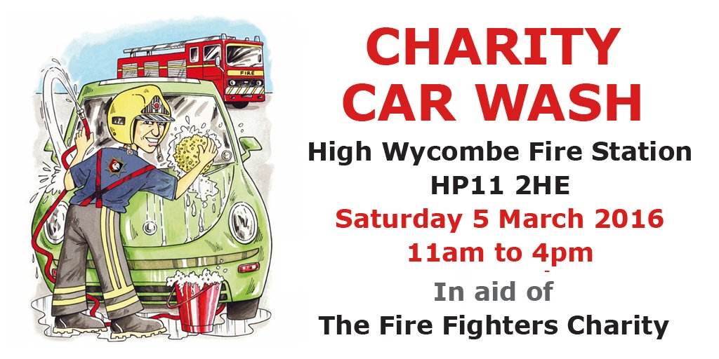 Past Event Charity Car Wash High Wycombe What 39 S On Where