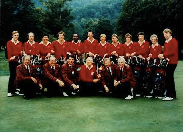 PGACOM On Twitter TBT 1979 Ryder Cup Team Digging The Plaid