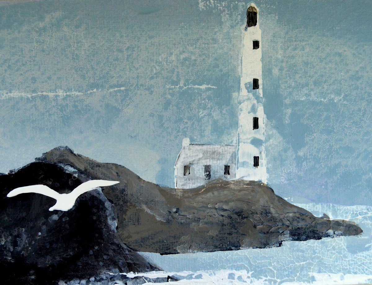 Finistere Brittany, postcard for @twitrartexhibit 2016 ! Should be with you any day now! x https://t.co/pmWU2LRV9b