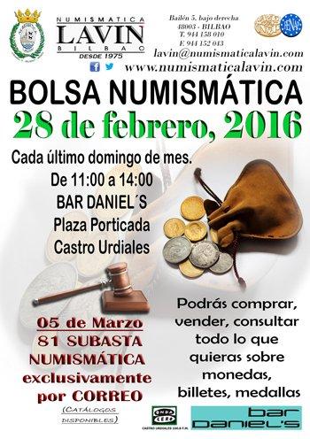 60 CONVENCIÓN NUMISMÁTICA BILBAO 26 de febrero CbhLG6sXEAA8m2M