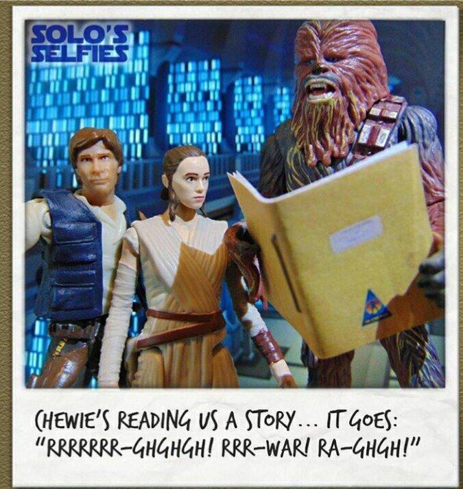 Новости Звездных Войн (Star Wars news): Питер Мейхью публикует сценарий Star Wars #chewscript