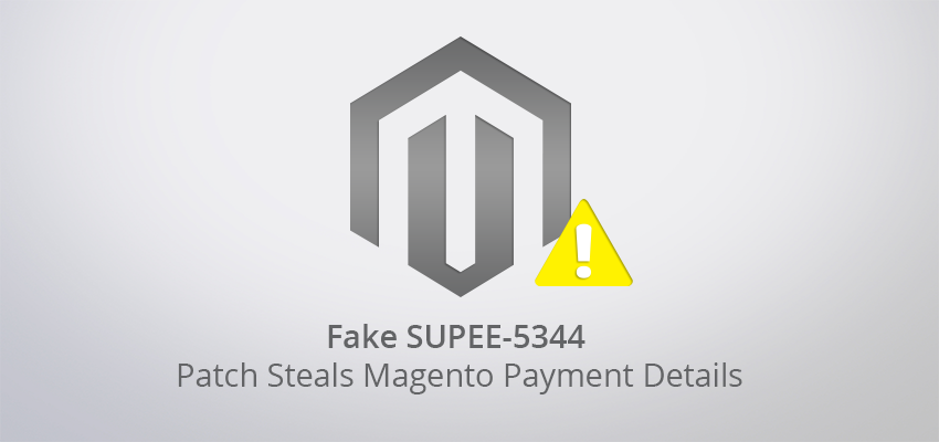 Magento Security Alert - Fake SUPEE-5344 patch steals payment details https://t.co/gV11MacDVs via @unmaskparasites https://t.co/FAseiuDTvJ