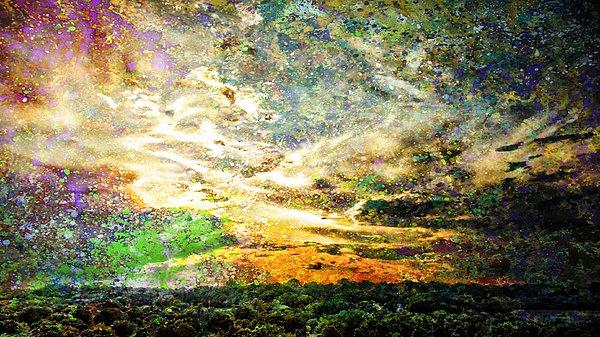"""New artwork for sale! - """"Cosmic Sunset """" - https://t.co/f8isvyM7Df @fineartamerica https://t.co/pr2YRwOlHT"""