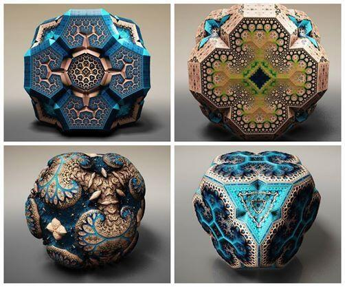 Wow. #sciart   RT @marsrader: Gorgeous fractal solid models created by laser physicist Tom Beddard. https://t.co/FSDk8b8eD2""