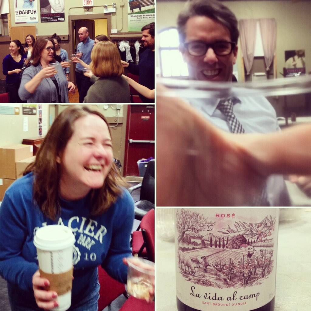 Impromptu celebration of @macfound #MacAward. Sparkly wine, @EKATL coffee chaser, gratitude. #NationalDrinkWineDay https://t.co/XNSx8npOGV
