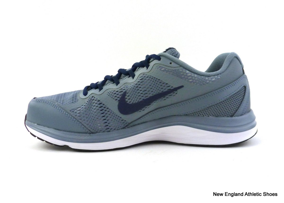7f06107a559d9 Check out Nike men Dual Fusion Run 3 running shoes - Magnet Grey   Midnight  Navy  Nike ...