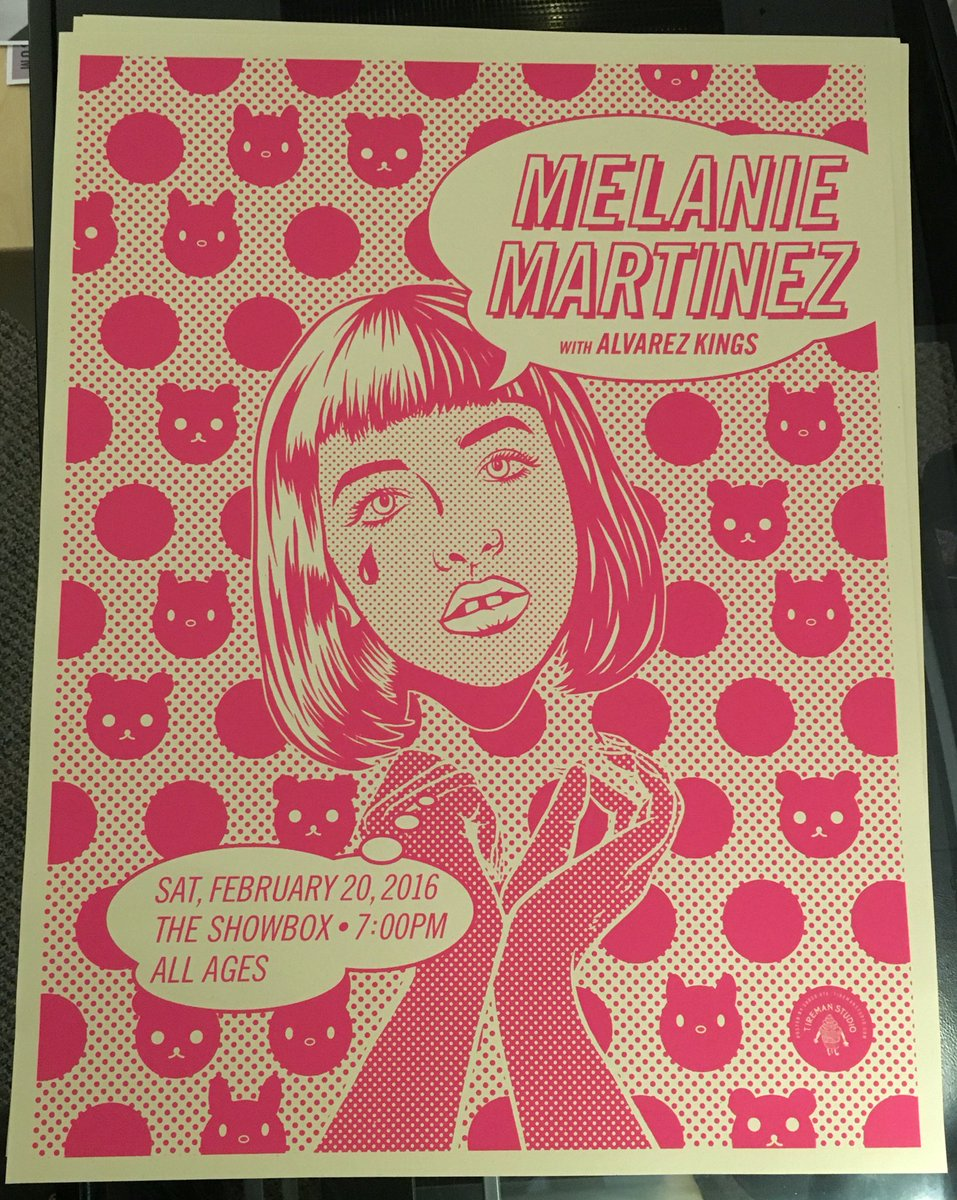 Retweet this post for a chance to win a @MelanieLBBH poster + 2 tickets to her SOLD OUT Showbox show this Sat 2/20! https://t.co/ly1O22iwC0