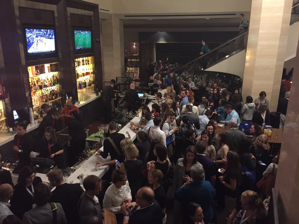 It's pure #APTACSM mayhem at the Hilton, but I absolutely love all the networking opportunities! https://t.co/MjorgmCyZ8