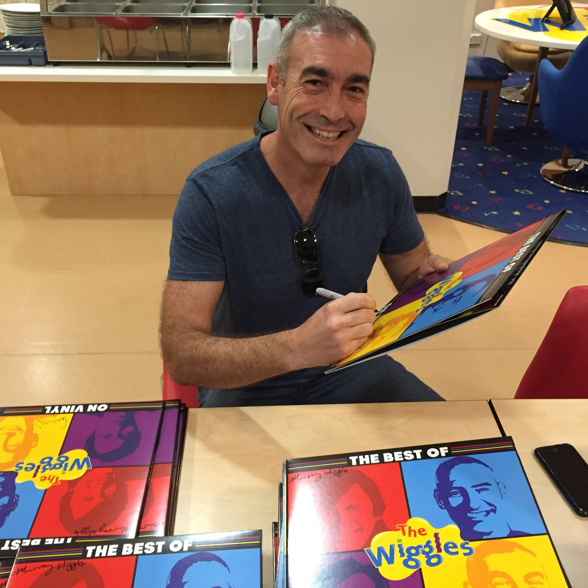 "The Wiggles on Twitter: ""Mr Greg Page is in the house ..."