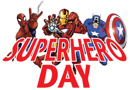 Image result for superhero spirit day clip