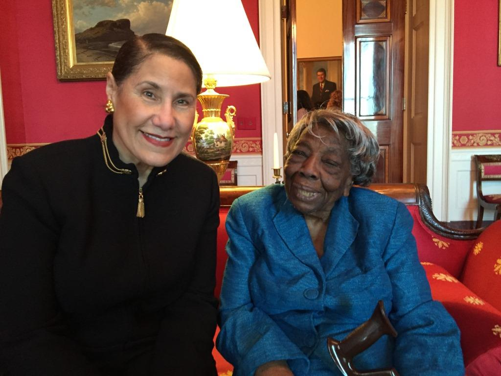 The inspiring story of the 106-year-old woman who met President Obama