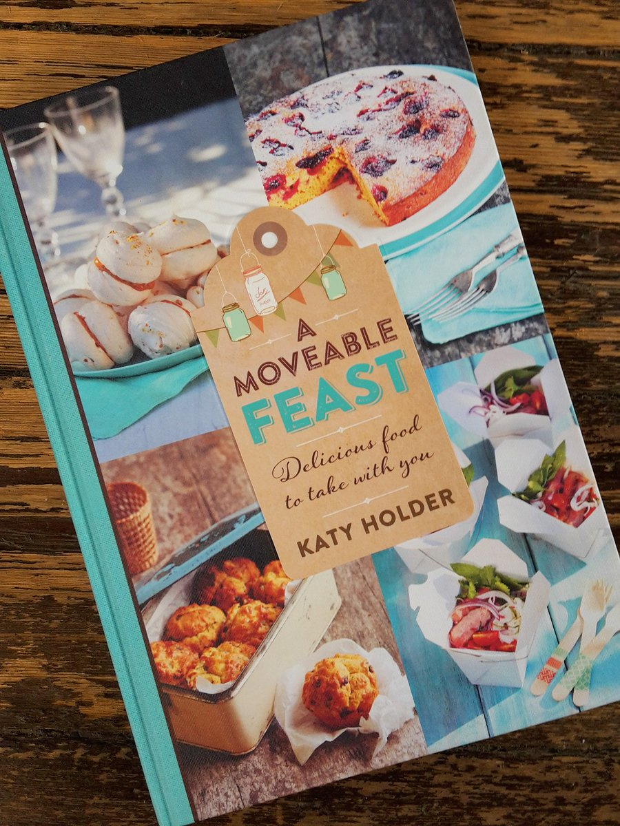 Follow and RT for the chance to #win Katy Holder's A Moveable Feast. Full T&Cs apply. Ends 22.02.16 #freebiefriday https://t.co/1fJMnmbw75