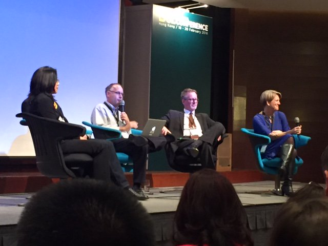 Getting ready for a thought provoking panel discussion of the next five years of tech to end today's #21CLHK https://t.co/96zp0BG0ds