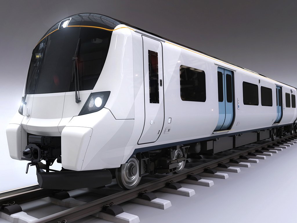 artist's impression of new train