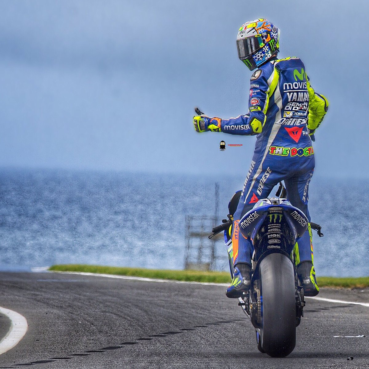 "Red Ghost on Twitter: ""Farewell #PhillipIsland @ValeYellow46 #ValentinoRossi #Rossi #MotoGP # ..."