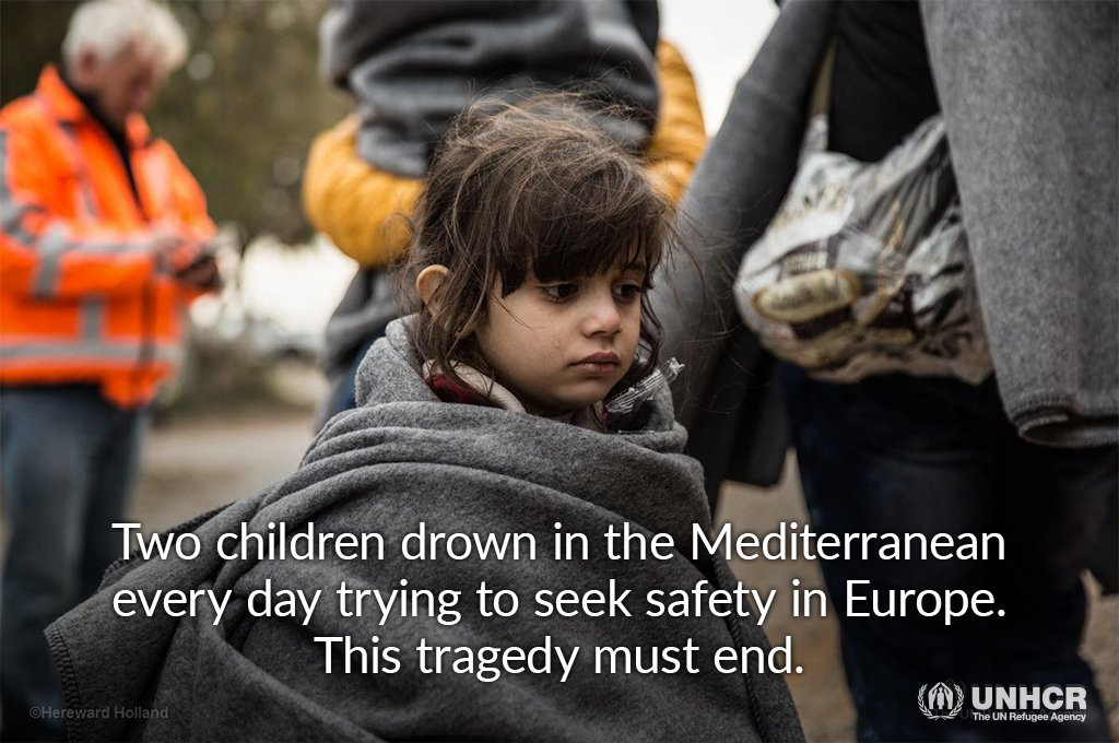 NEWS: 340+ children have drowned in the Mediterranean since Sept '15 https://t.co/iROD0VXTQg @UNICEF @IOM_News
