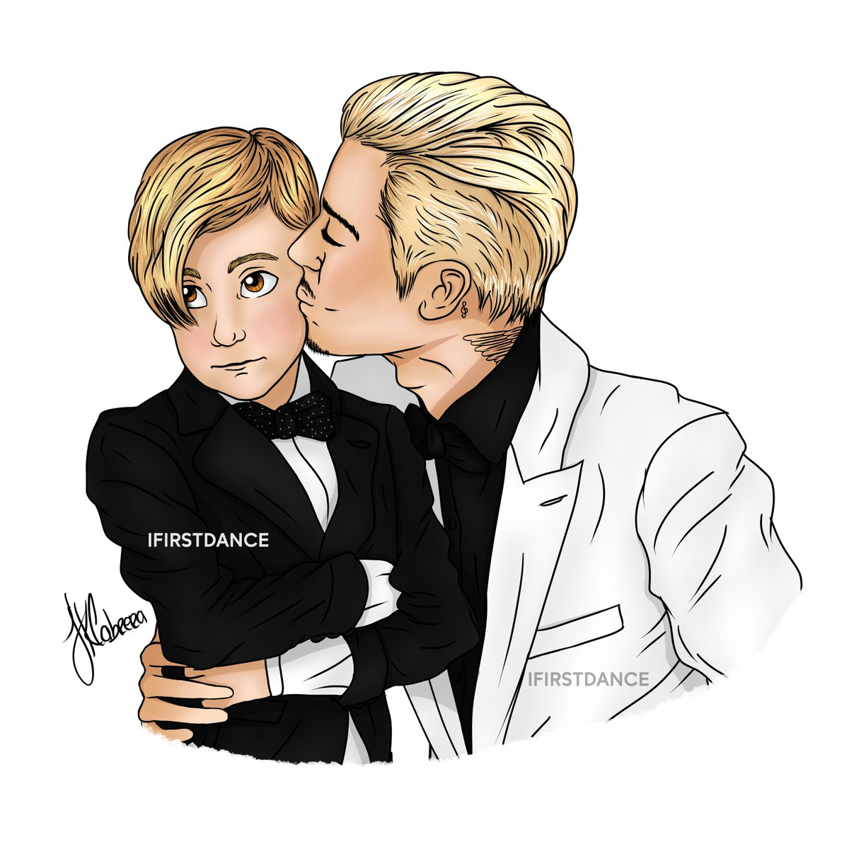 Justin bieber couple cartoon