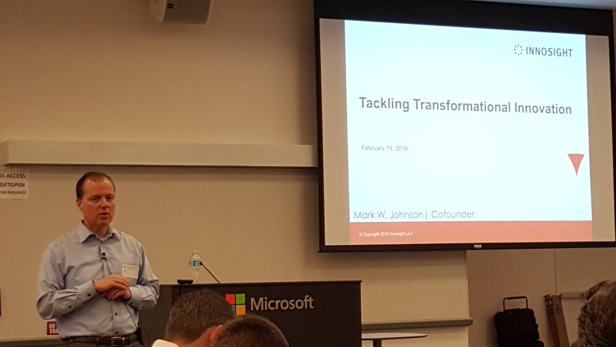 Mark Johnson, @InnosightTeam : To reinvent, Leadership,  Strategy,  & Innovation must be integrated.  #collabconfab https://t.co/YZkNuBUBIX