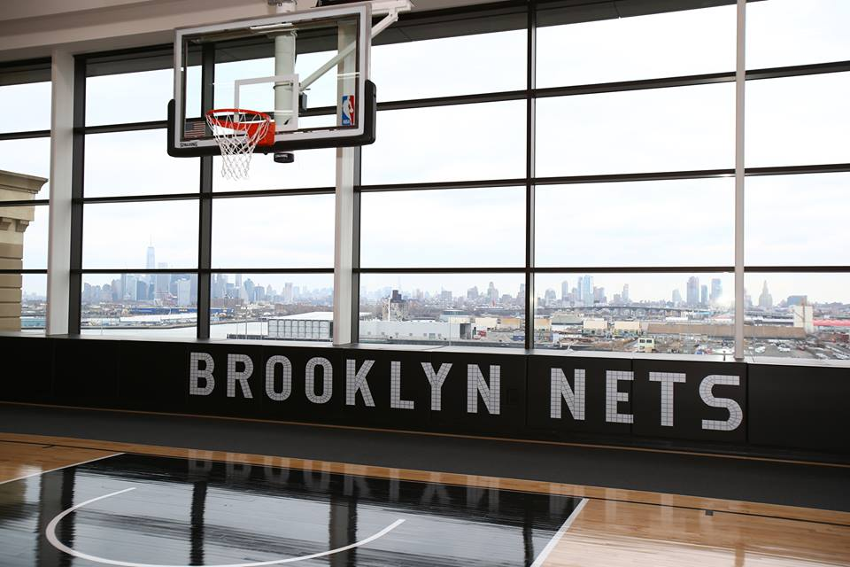 This was one of the first places I was shown after joining Nets. Now it becomes our training center! #HSS #Nets