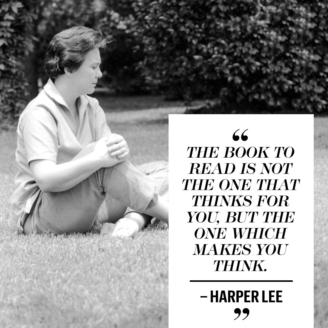 Rest in peace, Harper Lee: https://t.co/KNSZKZ8JpU https://t.co/1bk7cxPskE