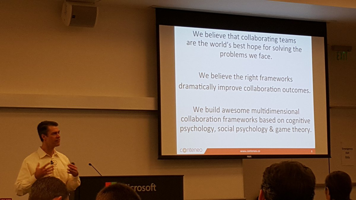 """""""We believe that collaborating teams are the world's best hope for solving the problems we face."""" #collabconfab https://t.co/NMi2gMyixO"""