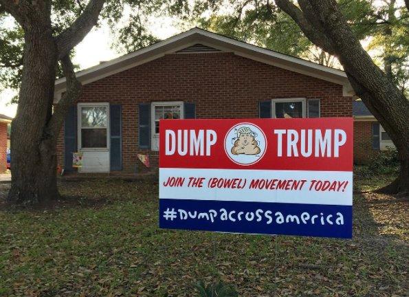 Dump Trump: Hanksy Hits the Road in South Carolina with 'Dump Across America' Campaign https://t.co/iOXZCPTOVA https://t.co/w4d9w1ddvd
