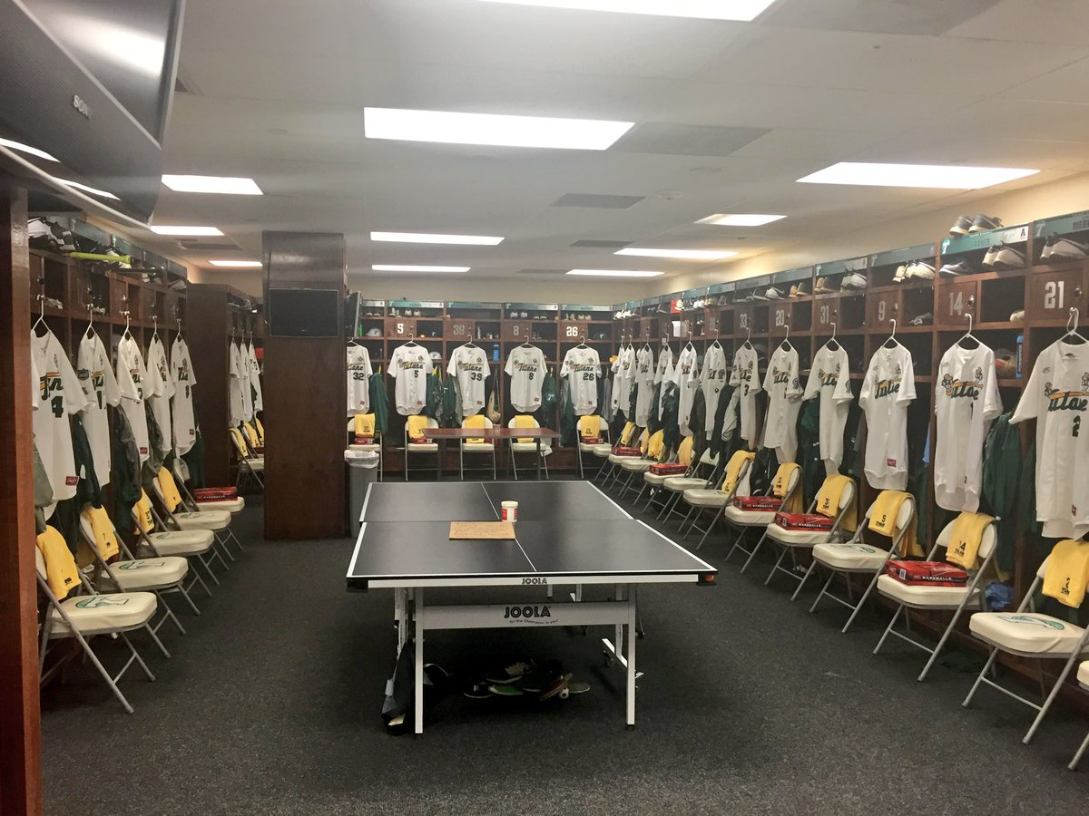 Tulane Equipment On Twitter Locker Room Ready For Opening Night The First Pitch Of 2016 GreenWaveBSB Baseball Season Tco MtJP6r9BoW