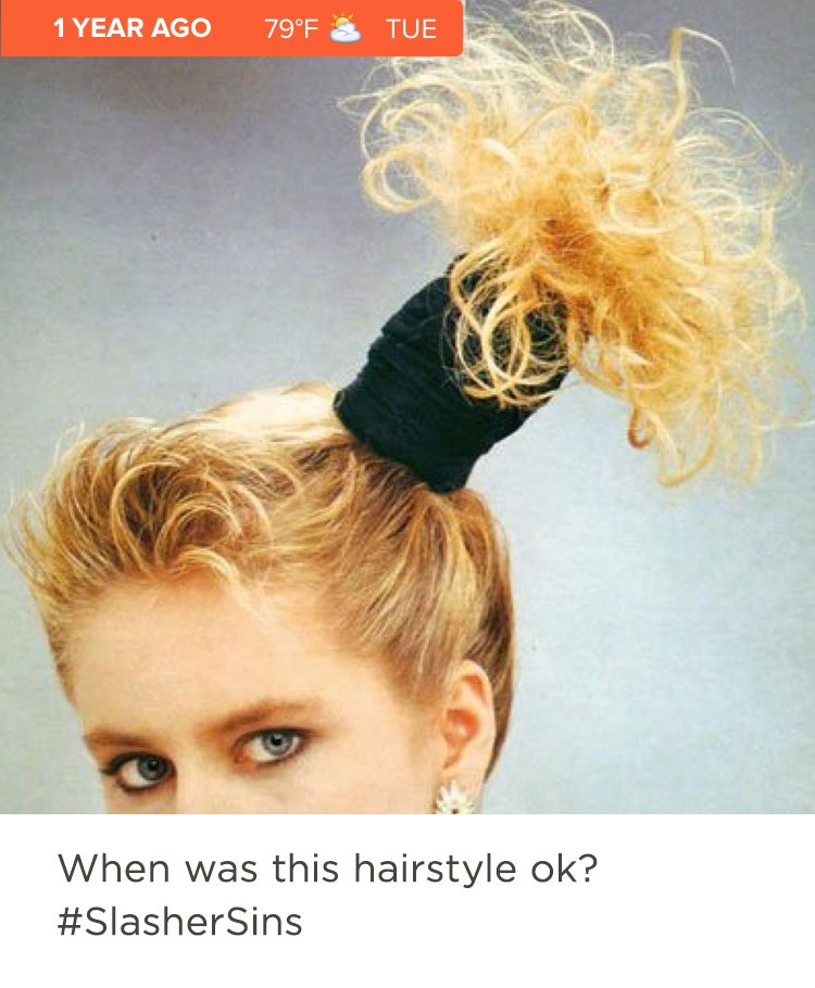 The 1980s were full of funky hair and makeup trends and some of the better ones are coming back