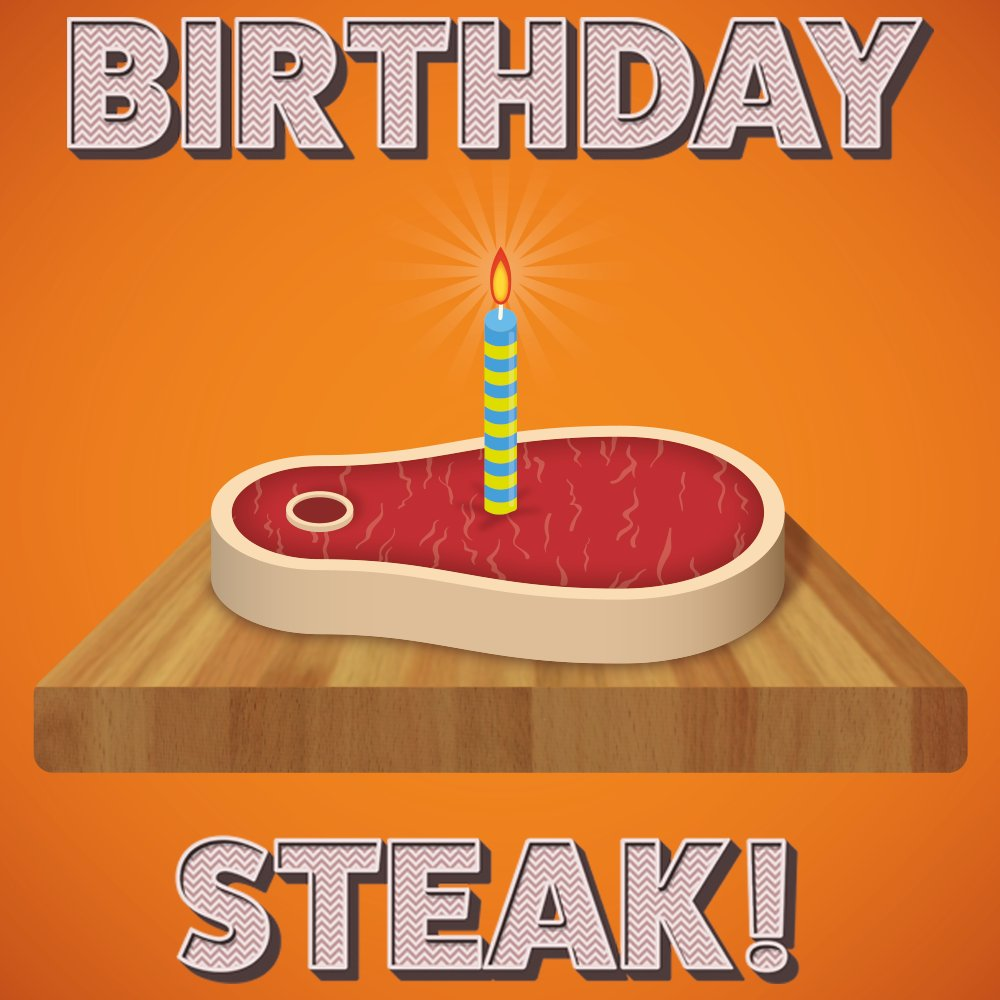 Pleasant Jim Young On Twitter Forget The Cake Have Some Birthday Steak Funny Birthday Cards Online Inifofree Goldxyz